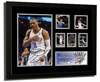 Russell Westbrook Oklahoma City Signed Limited Edition Framed Memorabilia