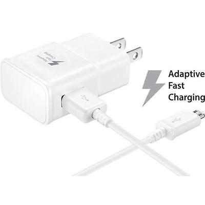 HOT Charger US Plug + Micro USB Cable For Samsung Galaxy S7/ S7 Edge / Note 5