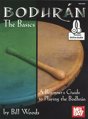 Bodhran the Basics Sheet Music Book with Audio Beginners Guide Learn How To Play