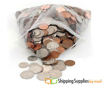 """10000 2.5""""x3"""" Bags Clear 2 mil Poly Bag Reclosable Plastic Small Baggies"""
