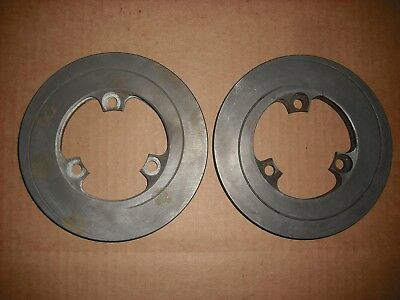 2 PIECES NEW 150mm x 12mm LH / RH Shifter Kart Vented Brake Discs Rotors