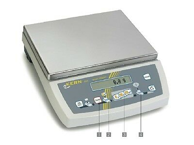 Scale Table Scale Compact Scales Scale Count 0,1 G - 16 kg Kern CKE 16k0.1
