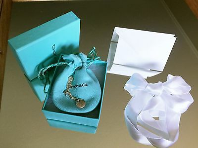 """NEW Tiffany & Co. I Love You Charm Necklace 16"""" Chain 925"""
