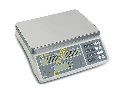 Scale Table Count Battery Power Supply 6kg Kern CXB 6k2nm Calibrated