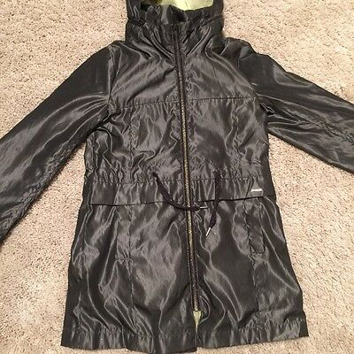 Dkny Girls Original Coat/jacket With Hood Light Weight Age 6 Years Used.