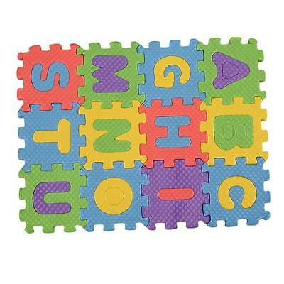 36 Soft Foam Floor Mat Alphabet Number Jigsaw EVA Interlocking Baby Kids Play CB
