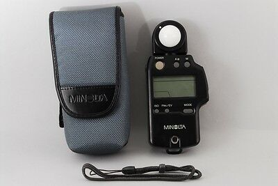 EXC++++ Minolta Autometer IVF Flash Light Meter IV F from JAPAN 697