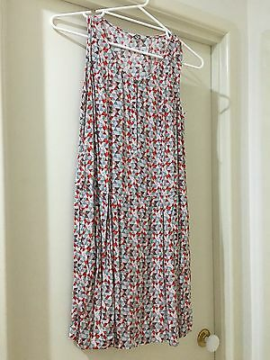 Jag Dress Button Up Front Size 8