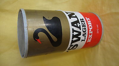 Analogue 9v Radio in 370ml beer can, 197's Swan Larger promotion, still works