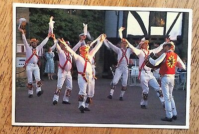 Morris Men in the Cotswolds, England Postcard