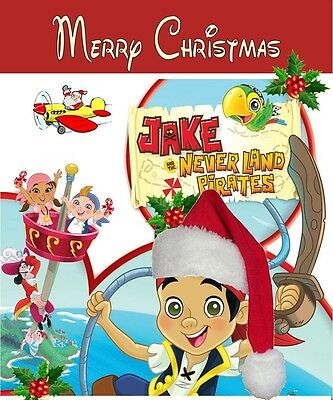 Personalized letter from Santa with Jake & the Neverland Pirates gifts
