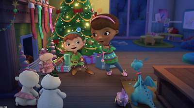 Personalized Christmas letter from Santa with Doc McStuffins stickers and more