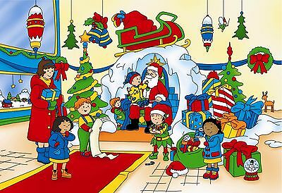 Personalized Christmas letter from Santa with CAILLOU gifts