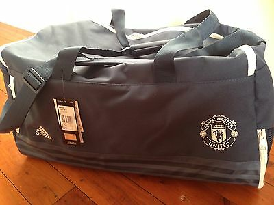 New Men's Adidas Manchester Sports Bag