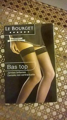 Bas Up Voile 15 Deniers Le Bourget Sexy Stocking Hold Ups