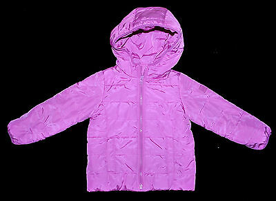 Baby Gap Toddler Girl Lined Winter Coat Jacket 4 Years Eur 105Cm  Fuchsia