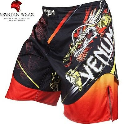 "Venum Fightshorts ""Lyoto Machida Tatsu King"" - Black/Orange"