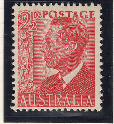 1950 21/2d Red GV1 Mint Unhinged