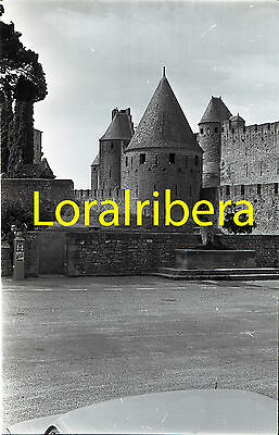 Negativo Francia Carcassonne 1964 Kodak 35Mm Negative France Castillo Chateau
