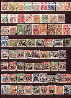Old Collection of Mozambique Company Mix Used & Unused 68 Stamps