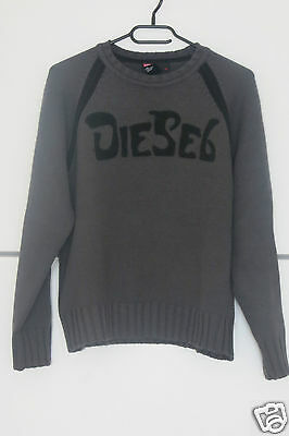 pull DIESEL gris - Taille 14 ans