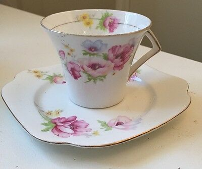 Colclough. Cup And Plate