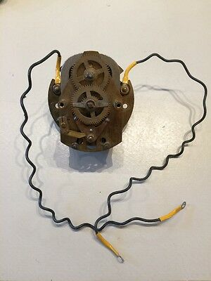 Electrical Slave Movement Clock. Not Synchronome or Gents