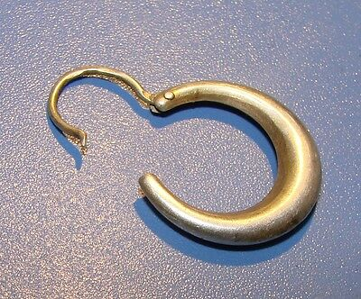 Ancient SILVER earring  Middle Ages original