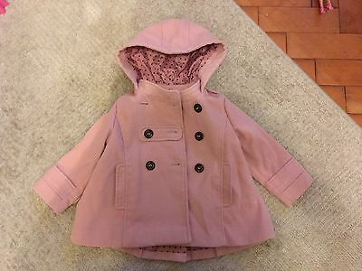 Girls Next Pink Coat Aged 1.5-2years