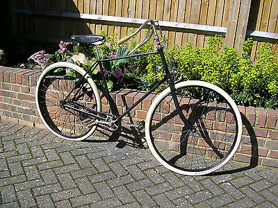1890s PEREGRINE ANTIQUE BICYCLE LEICESTER CYCLE Co. VINTAGE-VETERAN