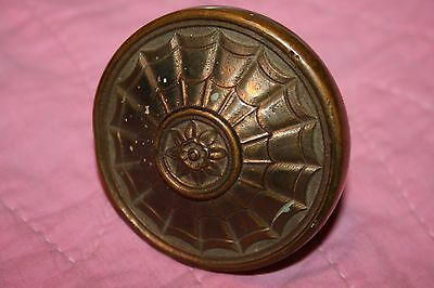 Vintage Brass Ornate Door Knob Russell & Erwin New Britain Connecticut Ct
