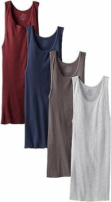 Fruit of the Loom Men's A-Shirt (Pack of 4), Assorted, XX-Large