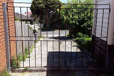 Solid Iron Gates - 2 pieces