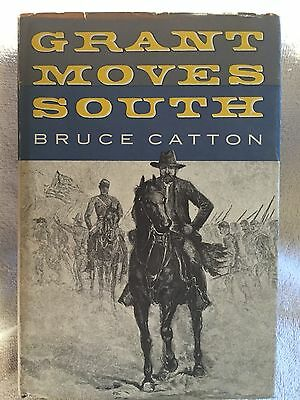 Grant Moves South by Bruce Catton 1st Edition HC DJ NEAR MINT Civil War Book