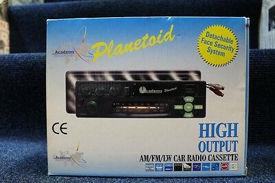UNUSED BOXED Academy Planetoid Car stereo - Untested