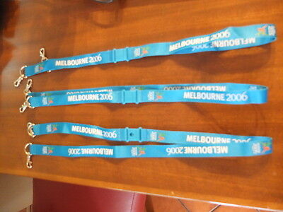 2006 Melbourne Commonwealth Games Lanyards