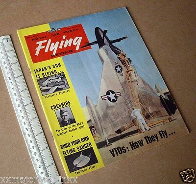 1954 Vintage RAF Flying Review Classic Cold War Aviation Magazine Convair XFY-1