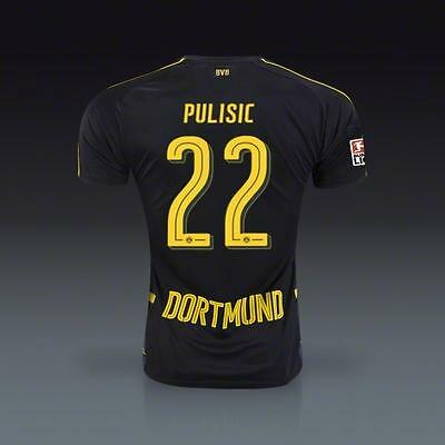 Borussia Dortmund Away jersey PULISIC 22 for size S
