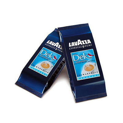 100 Cialde Lavazza Espresso Point Decaffeinato Capsule Lavazza Point Dek