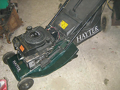 Hayter Harrier 41 self propelled electric start lawnmower