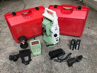 Leica TCRP1205 robotic total station package