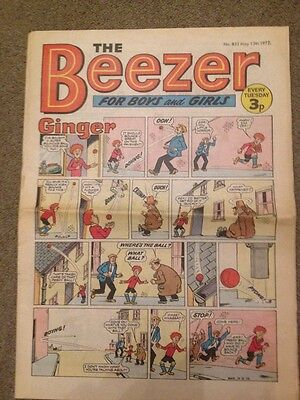 The Beezer Comic May 1972