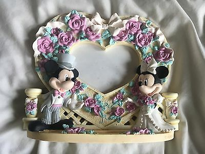 Disney Mickey and Minie Wedding Picture Frame