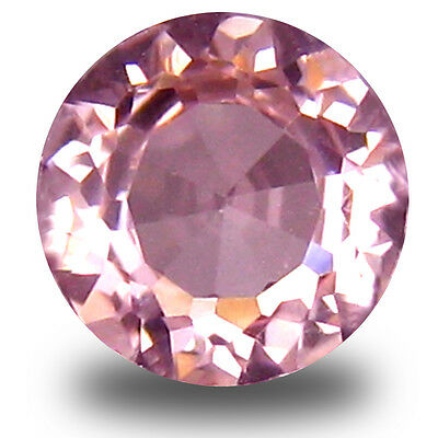 0.52 ct Attractive Round Cut (5 x 5 mm) Pink Color Morganite Gemstone