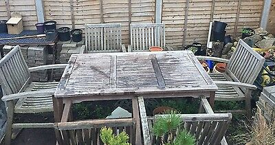 ***Garden Table And 6 Chairs Set!!!***