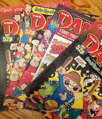 The Dandy, 4 Issues From 2000
