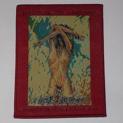 Fields Of The Nephilim Burning The Fields black woven patch aufnäher limit rock