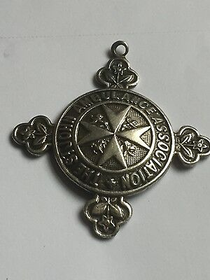 St John Ambulance Assocition Medal Solid Silver