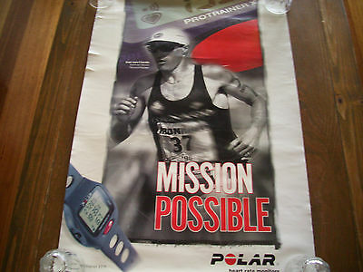 Mission Impossible Iron Man POSTER heart rate monitor sport