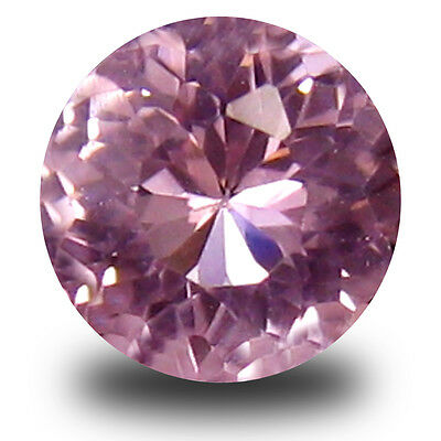 0.20 ct Grand looking Round Cut (4 x 4 mm) Pink Color Morganite Gemstone